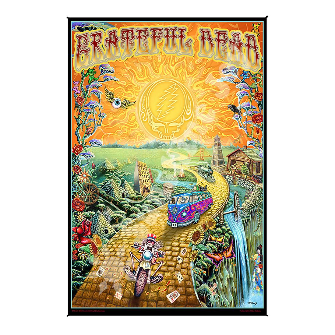 GD Golden Road Mini Tapestry