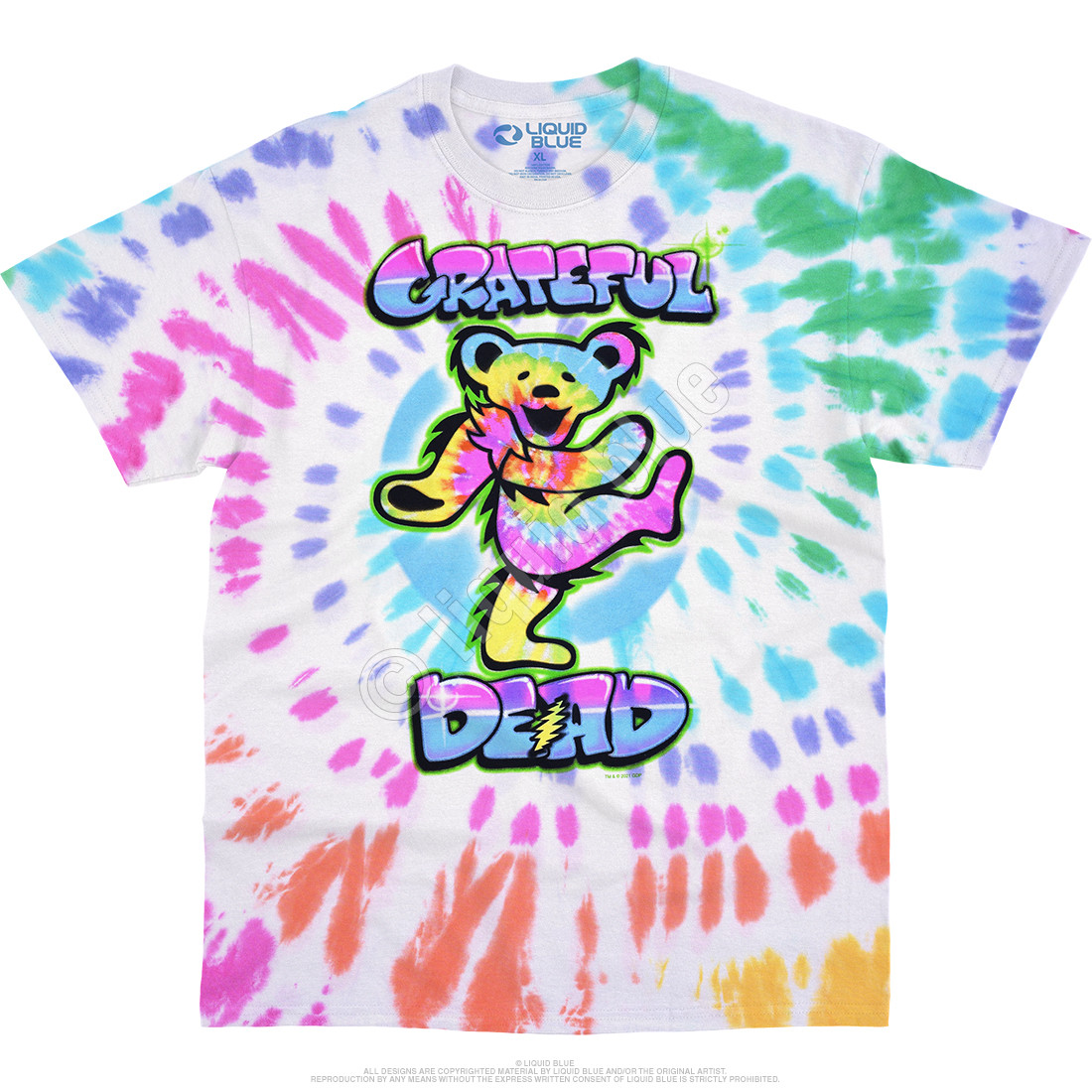 Carnival Bear Tie-Dye T-Shirt