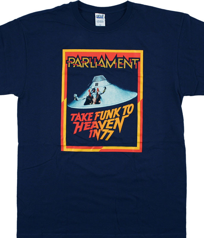 Parliament Funk To Heaven Navy T-Shirt