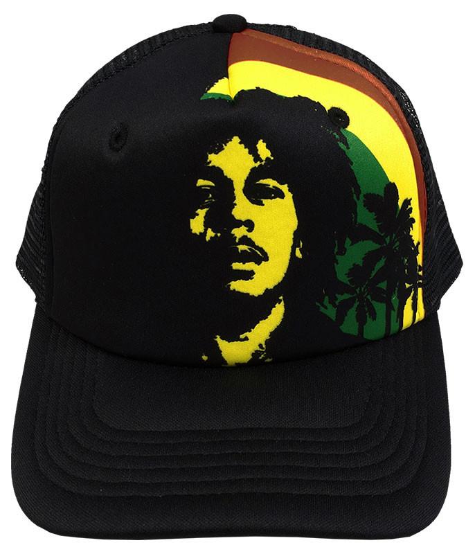 Bob Marley Rise Up Trucker Hat