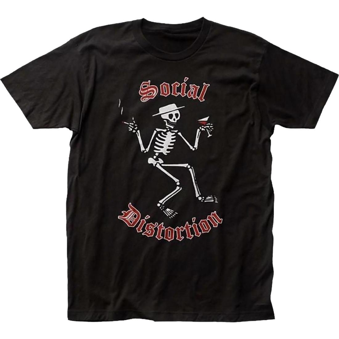 Skellys Black T-Shirt