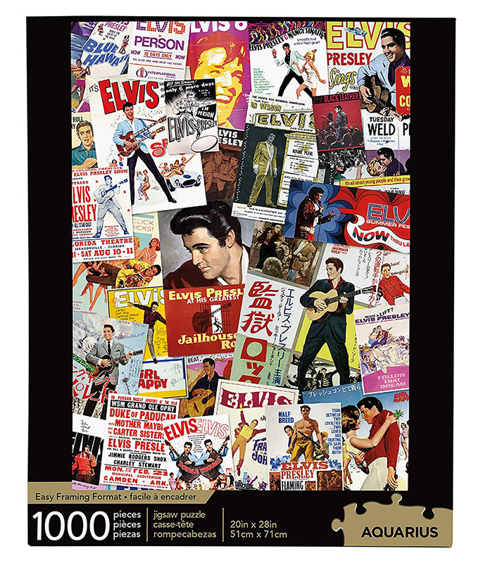 Elvis Presley Movie Poster Puzzle