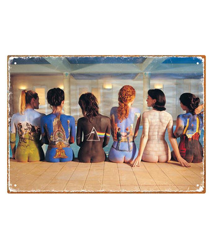Pink Floyd Back Catalogue Tin Sign