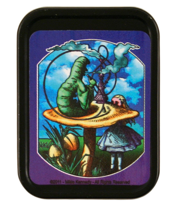 Alice & Caterpillar Stash Tin