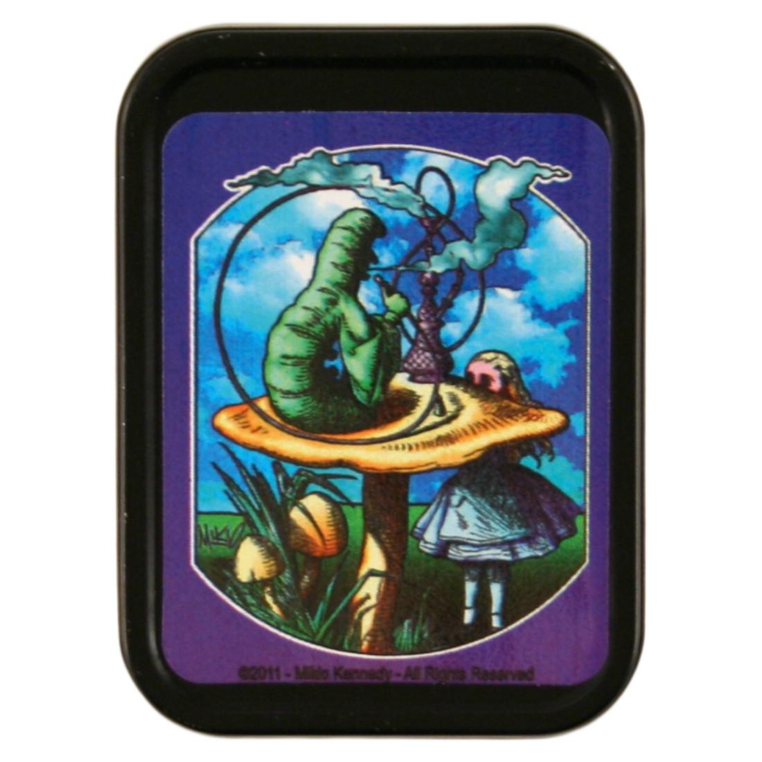 Alice & Caterpillar Stash Tin