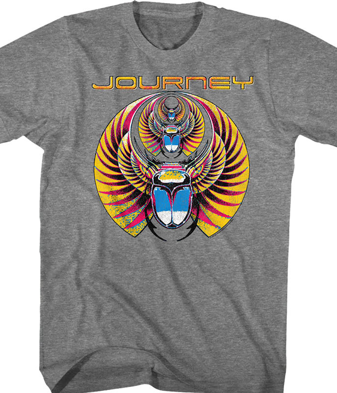 Journey Scarab Grey T-Shirt Tee