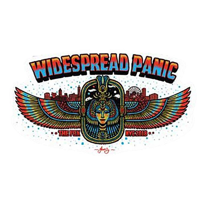 Widespread Panic NYE 2018 Atlanta Fox Sticker