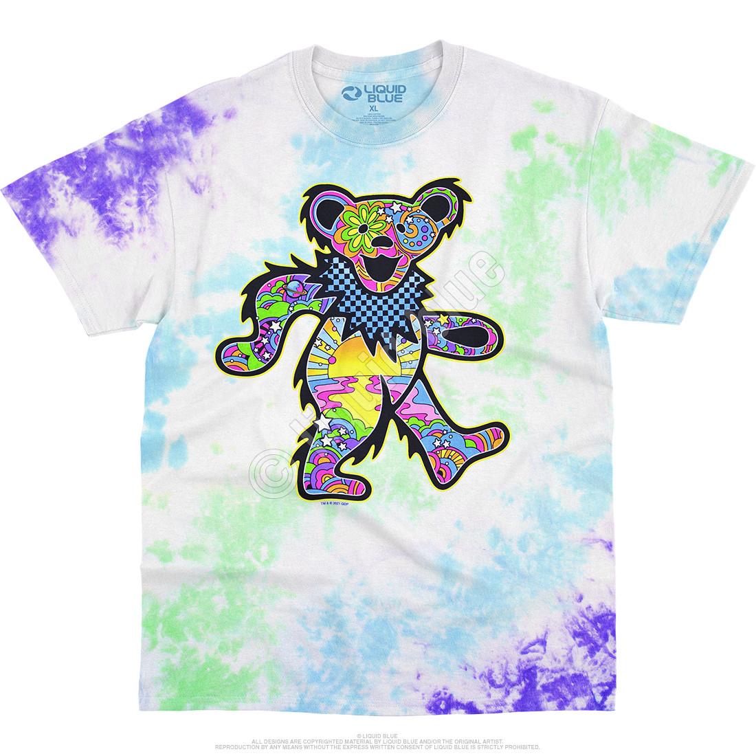 Mod Bear Tie-Dye T-Shirt