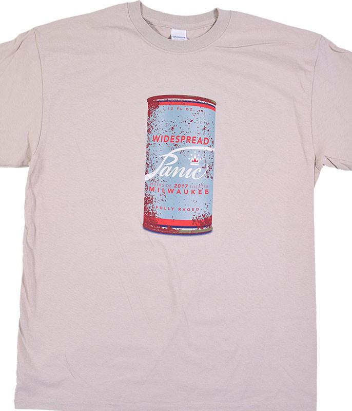 Widespread Panic Milwaukee Event 2017 Tan T-Shirt Tee