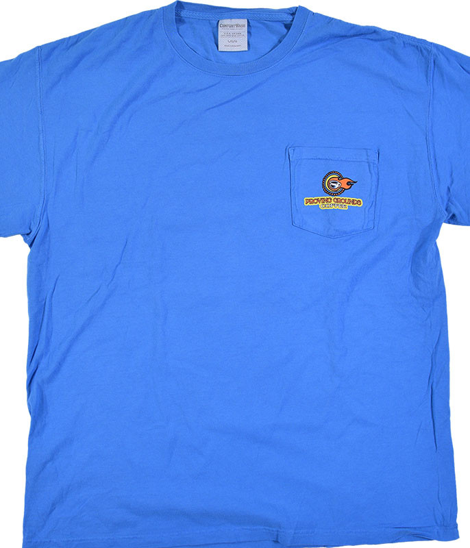 Widespread Panic Proving Grounds Blue T-Shirt Tee