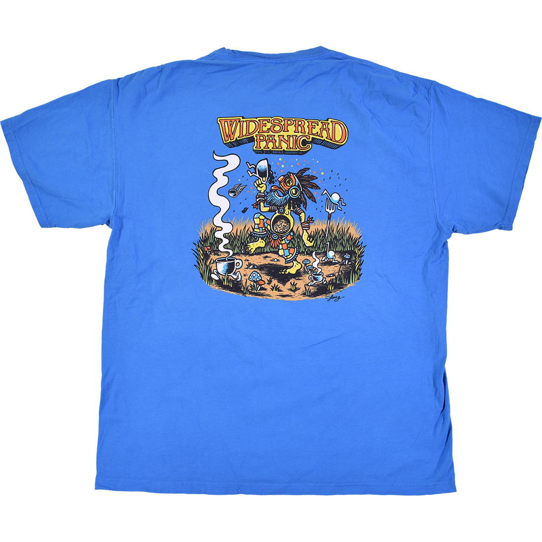 Proving Grounds Blue T-Shirt