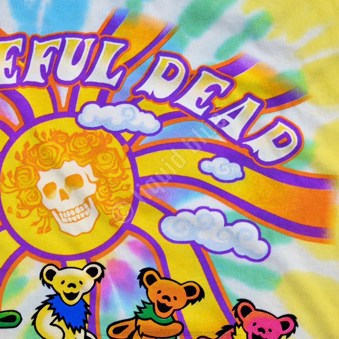Sunshine Bears Tie-Dye T-Shirt