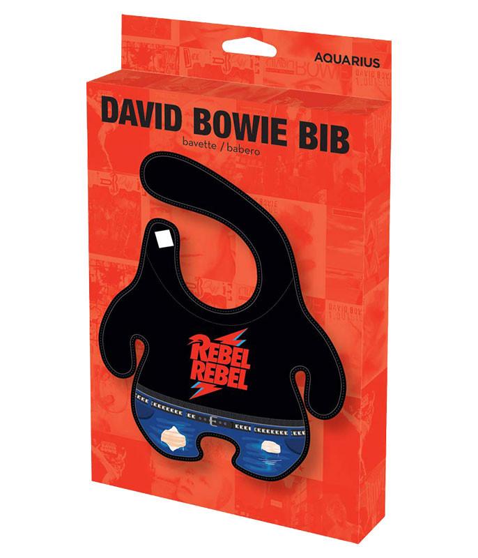 David Bowie Baby Bib