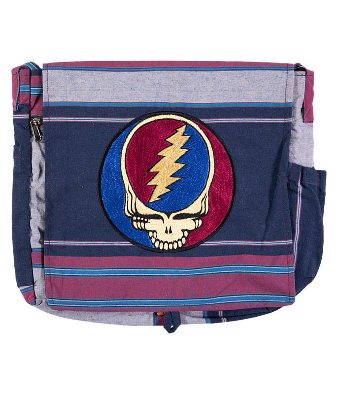 Grateful Dead Steal Your Face Messenger Bag