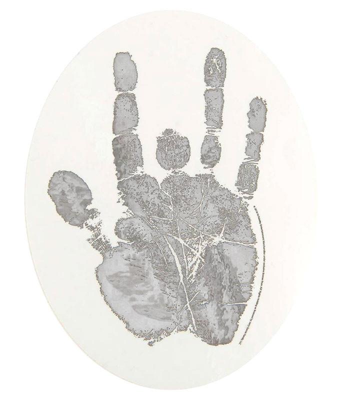 Jerry Garcia Hand Silver Sticker