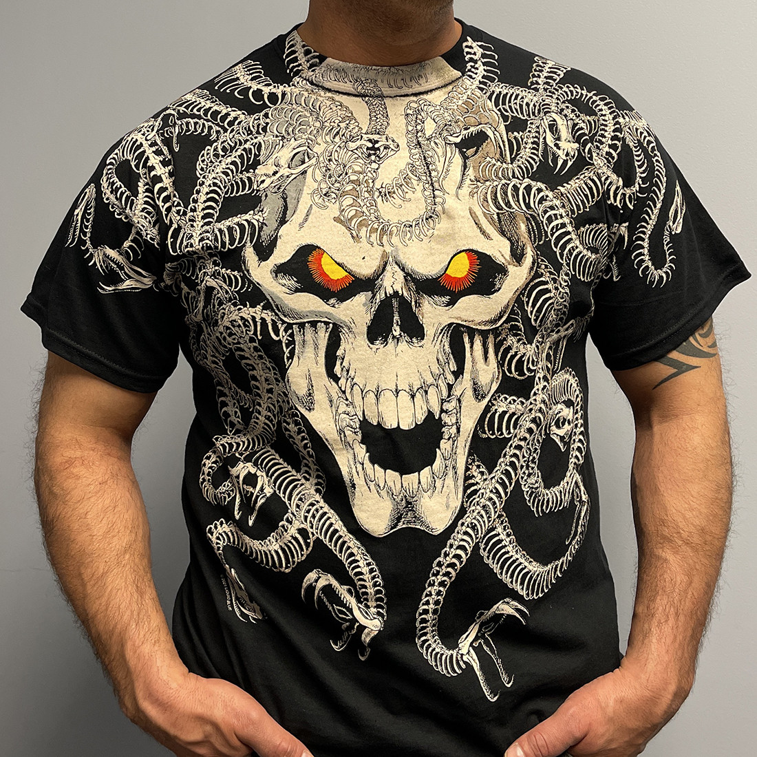 Medusa Black T-Shirt