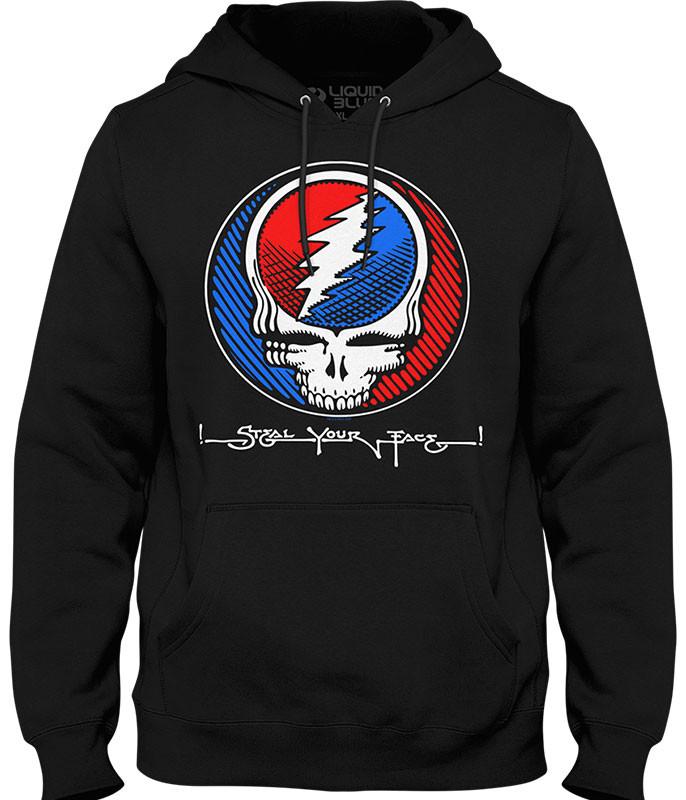 Grateful Dead Underground SYF Black Hoodie
