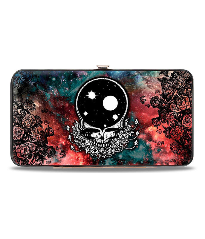 Grateful Dead Space Your Face Hinged Wallet