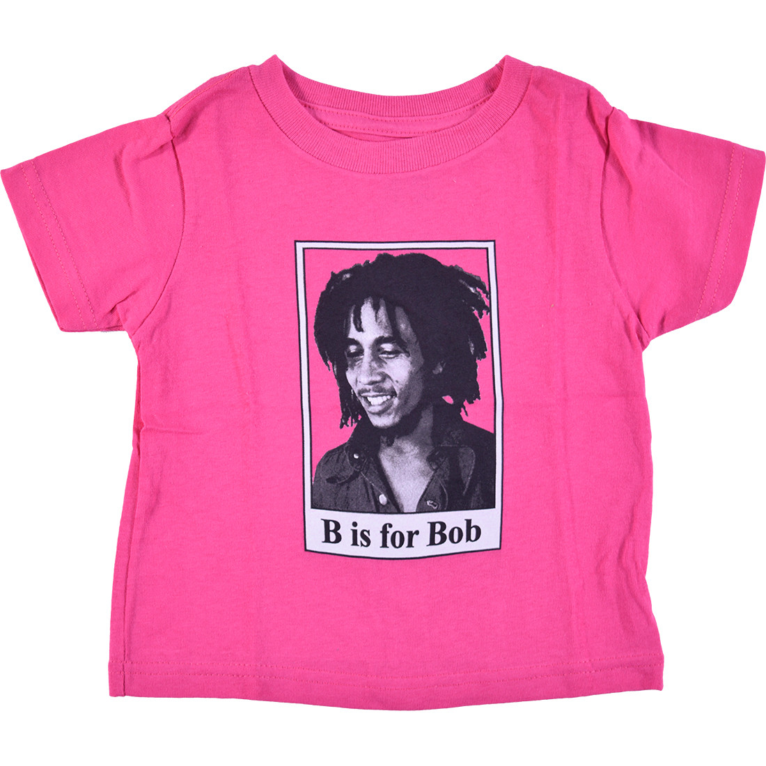 B Is For Bob Toddler Pink T-Shirt