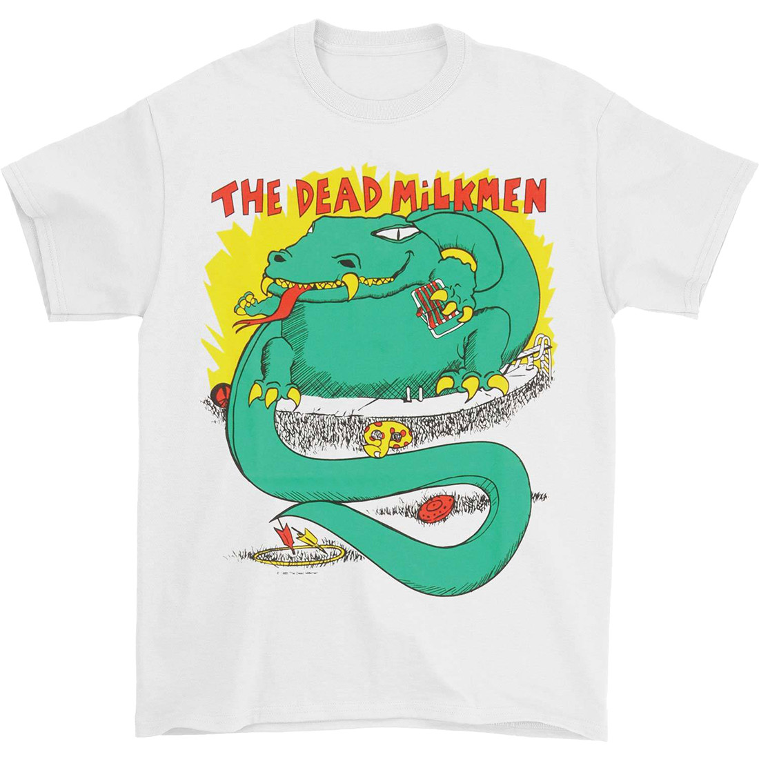 Big Lizard White T-Shirt