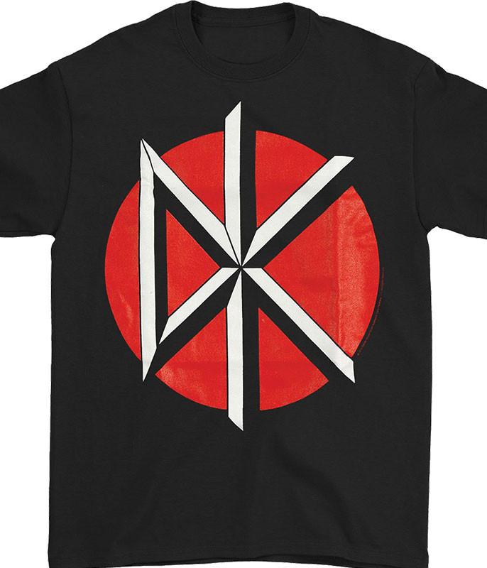 Dead Kennedys Logo Black T-Shirt