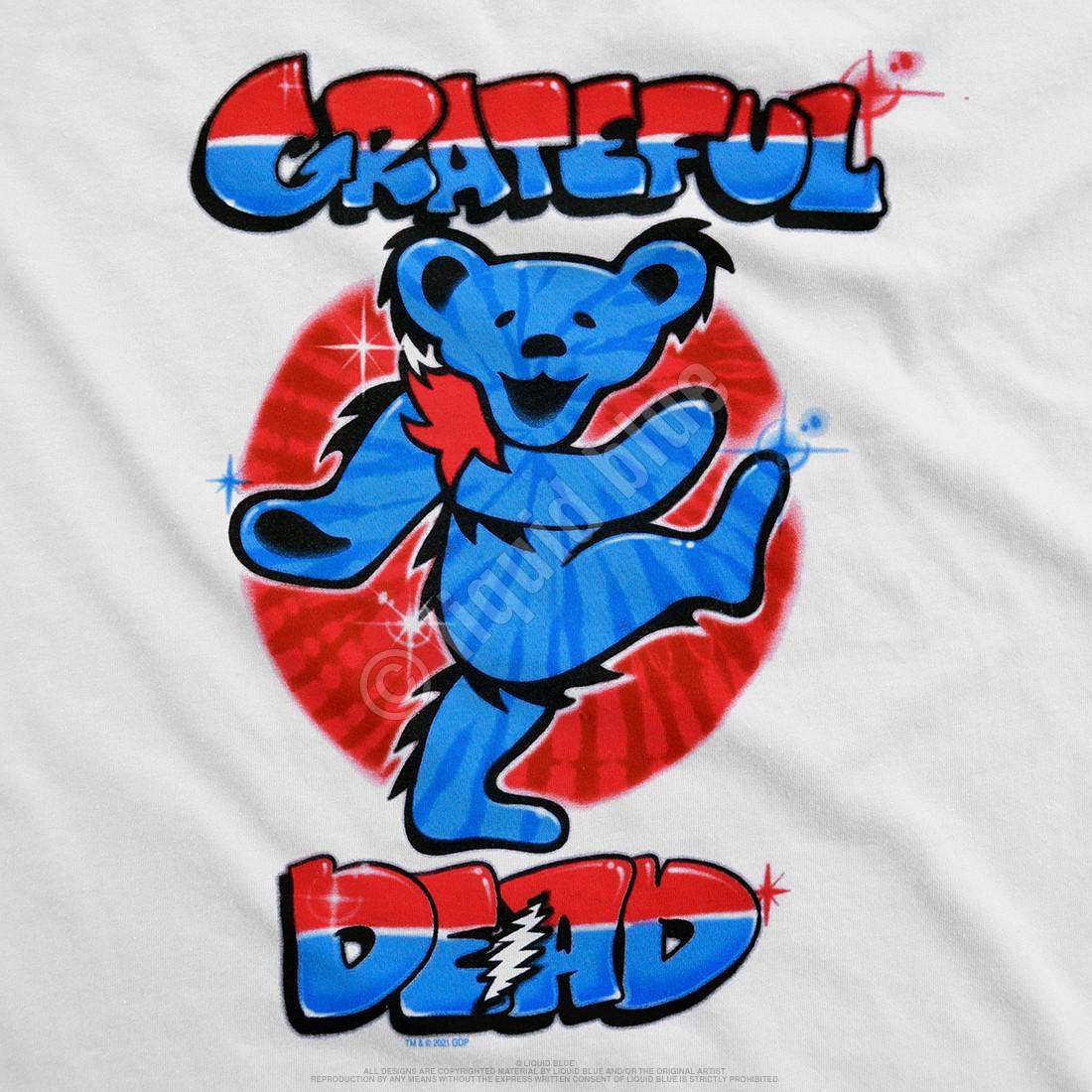 Independance Bear White T-Shirt