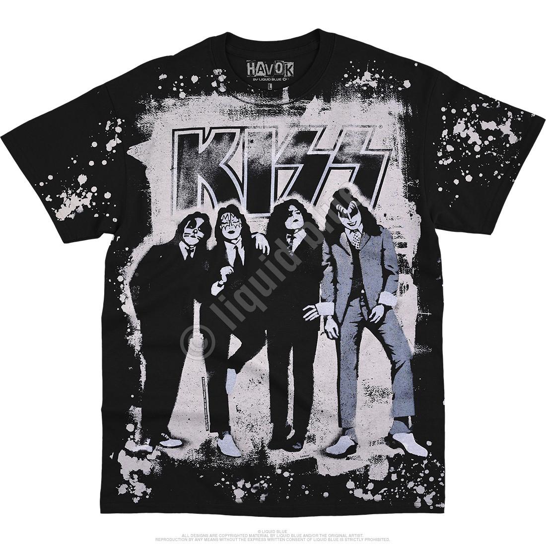 Dressed To Kill Havok Black T-Shirt