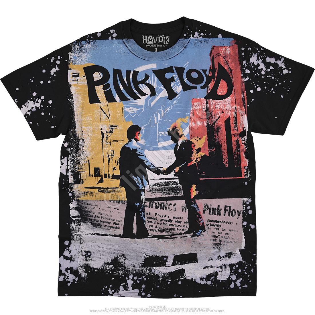 Wish You Were Here Havok Black T-Shirt