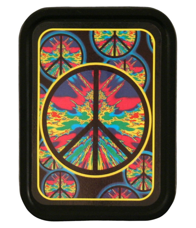 Psychedelic Peace Stash Tin