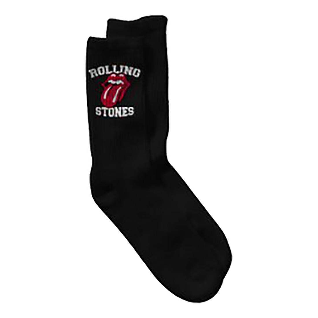 Rolling Stones Tongue Logo Socks
