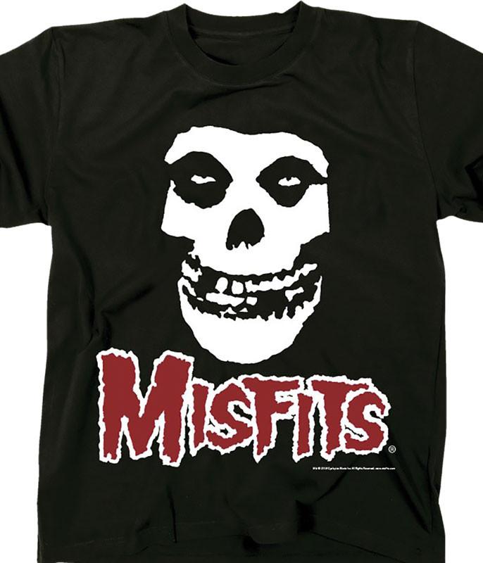 Misfits Skull Fiend Black T-Shirt