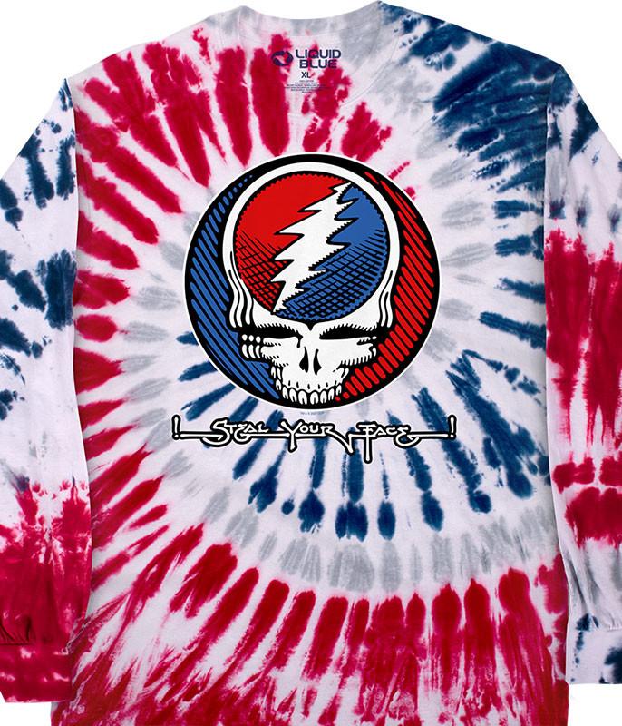 SYF Underground Tie-Dye Long Sleeve T-Shirt
