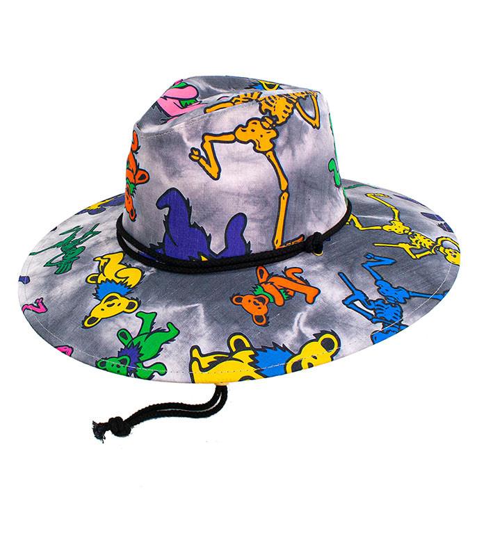 Grateful Dead Dancing Bear Skelly Resort Hat