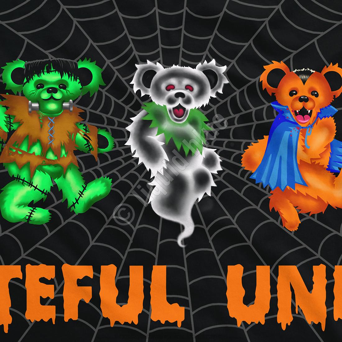 Undead Bears Black T-Shirt