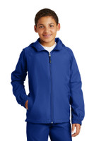 Sport-Tek Youth Hooded Raglan Jacket. YST73