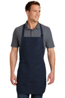 Port Authority Full Length Apron with Pockets.  A500