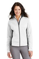 Port Authority Ladies Two-Tone Soft Shell Jacket.  L794