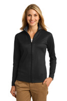 Port Authority Ladies Vertical Texture Full-Zip Jacket. L805