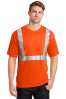 CornerStone - ANSI 107 Class 2 Safety T-Shirt.  CS401