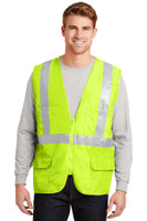 CornerStone - ANSI 107 Class 2 Mesh Back Safety Vest. CSV405
