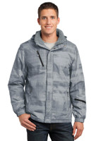 Port Authority Brushstroke Print Insulated Jacket. J320