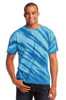 Port & Company - Tiger Stripe Tie-Dye Tee. PC148