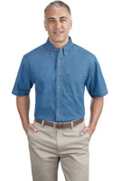 Port & Company - Short Sleeve Value Denim Shirt. SP11