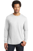 District Made Mens Perfect Weight Long Sleeve Tee. DT105
