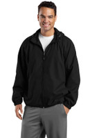 Sport-Tek Hooded Raglan Jacket. JST73