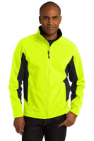 Port Authority Tall Core Colorblock Soft Shell Jacket. TLJ318
