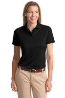 Port Authority Ladies Poly-Charcoal Blend Pique Polo. L497