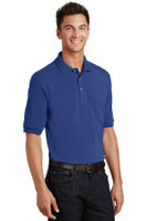 Port Authority Pique Knit Polo with Pocket.  K420P