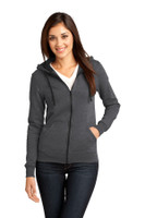 District - Juniors The Concert Fleece Full-Zip Hoodie. DT801