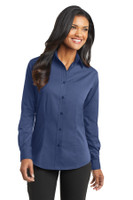 Port Authority Ladies Tonal Pattern Easy Care Shirt. L613
